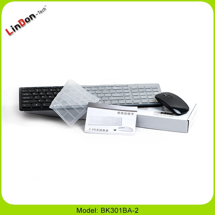 Cheap Colored wireless keyboard and mouse combo, white bluetooth keyboard and mouse combo