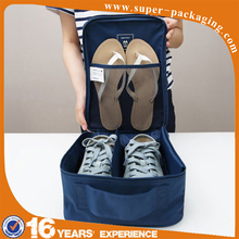 Hot Sale Customized Portable Waterproof Luggage Storage Travel Bag With Shoe Compartments
