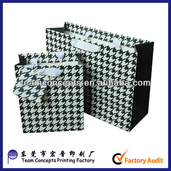 custom different types of craft paper bag