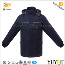 slim thicken waterproof navy labor insurance winter work suit
