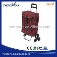 Fashionable hotsell shopping trolley luggage bag with wheels
