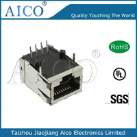 AICO free sample 90 degree led option wholesale amp rj45 connectors with spring clamp