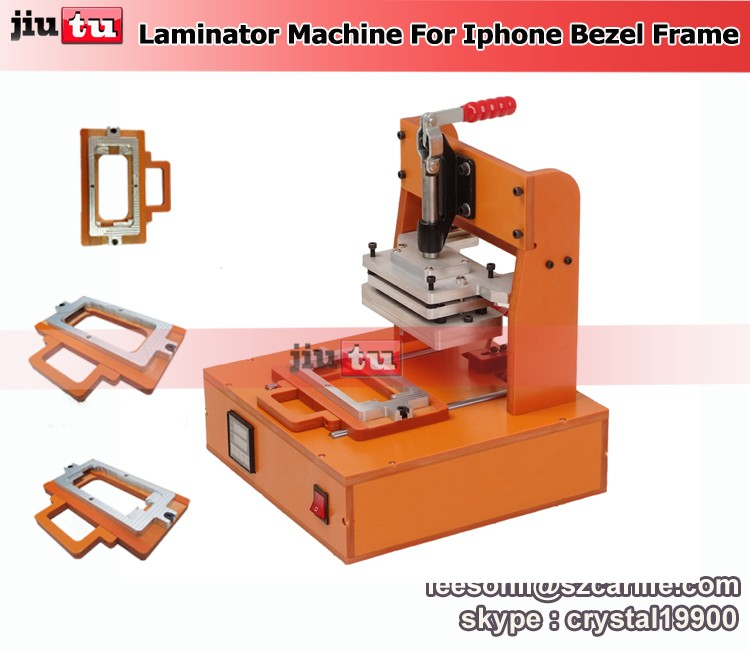 Bezel Frame Laminating Machine for iPhone 6 6S 6S Plus Hot Glue Bezel Lamination