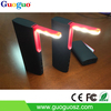 Family power bank with LED lamp&Black