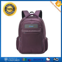 18'' fancy purple color eminent business backpack laptop bag