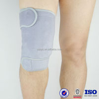 grey OK cloth tourmaline healthy far infrared orthopedic knee pads neoprene magnetic knee brace manufacturers