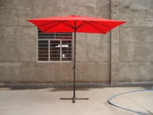 2x3m middle pole patio umbrella parts outdoor tilt mechanism