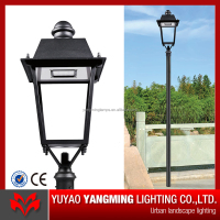 China factory die cast aluminum 5 years warranty led garden post lights