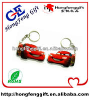 2014 promotional truck shape mini led key chain low price