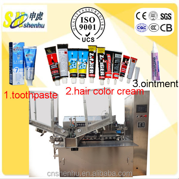 Automatic Aluminium /Plastic/Laminated/Soft Tube Filling and Sealing Machine for Toothpaste and Ointment Wholesale