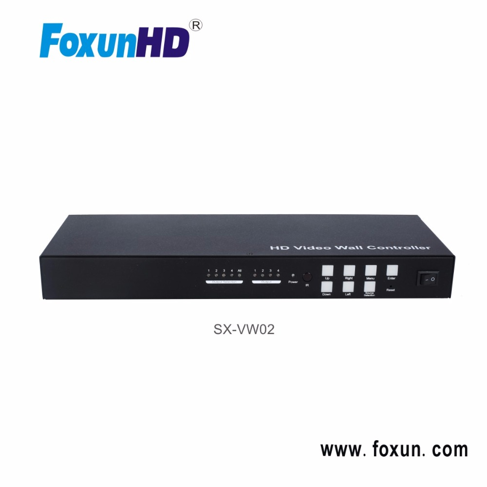 SX-VW02 1x4 Mixed Input Splitter, HD Video Wall Controller