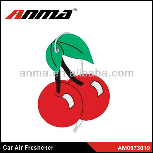 Fruit shape good smell in American cute car air freshener