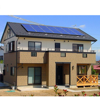 China Factory 50kw On Grid Solar Power System Grid Tied Solar Panel System