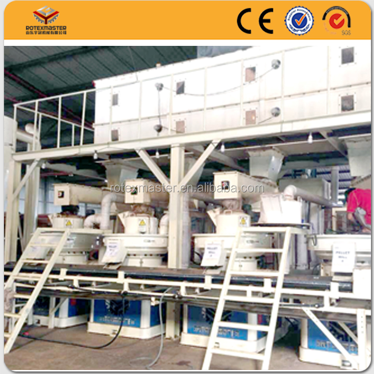 Newest factory supply thailand eucalyptus bark pellet machine