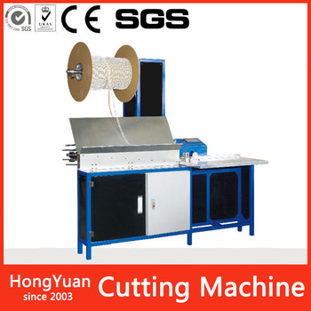 Shenzhen Factory Supply advertisement stationery automatic double loop wire cutting machine