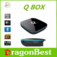 Q-BOX Android 5.1 TV Box 2G+16GB Amlogic S905 Smart media player 4K H.265 Android 5.1 Kodi 16.0 XBMC Pre-install in stocks
