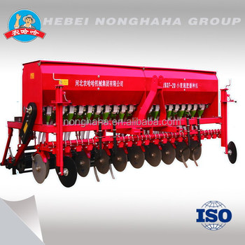 2016 new model wheat seed drill,24 rows seed drill