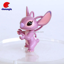 cartoon pvc figurine/mini 3d plastic figurine toy/promotional custom 3d cartoon figurine China Factory