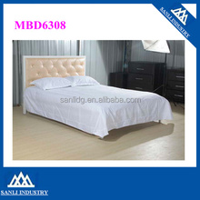 High Quality King Size Bed PU Leather Bed