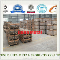 High strength 5083 aluminum alloy sheet / plate selling in stock