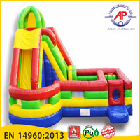 Airpark New Design Inflatable Bouncer/Bounce House/Jumping House with Slide Combo