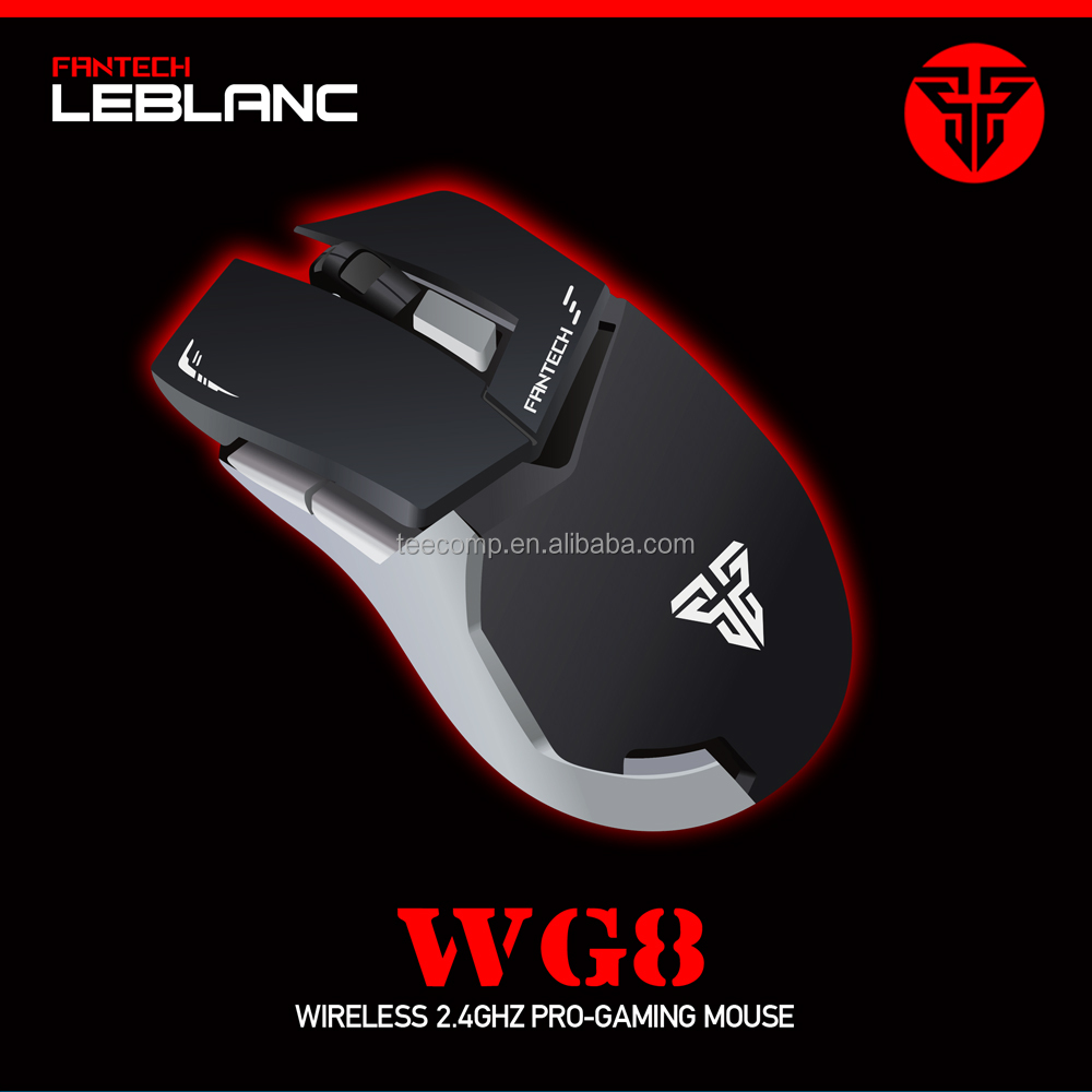 2000DPI Wireless mouse 6 Buttons USB Optical Gaming Mouse computer