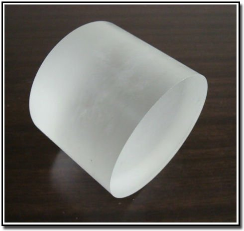 High purity 99.9%~99.999% calcium fluoride crystals