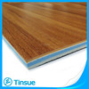 Wood color look PVC basketball sports flooring