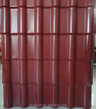 Construction material Professional manufacturer plastic spanish PVC roof sheet plastic roof tile