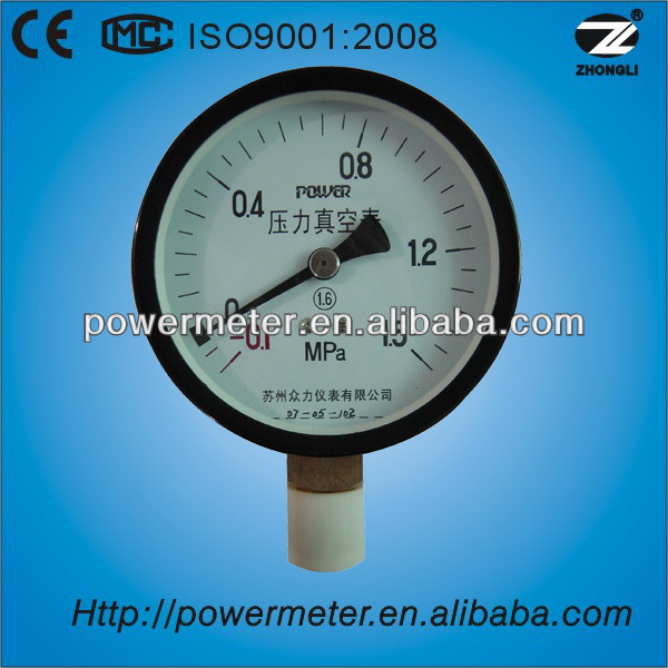 pressure gauge calibration standard with CE certificate