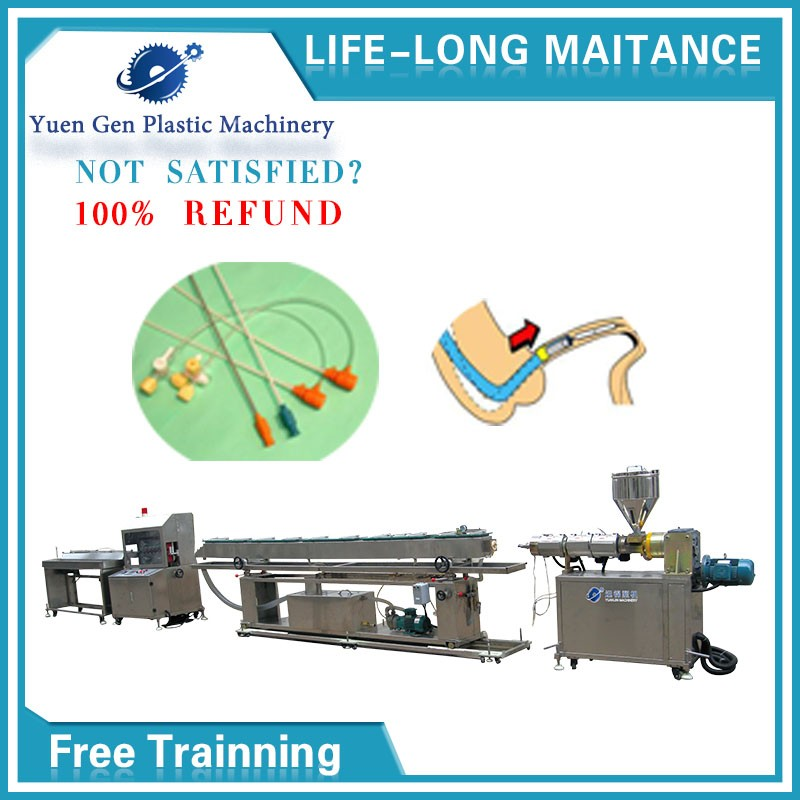 polyimide balloon angioplasty small diameter plastic tube extrusion working machine for custom project