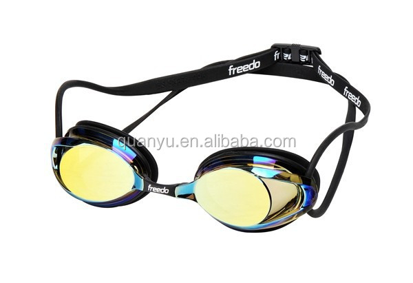 high quality goggles  Wholesale 2017 High quality racing swim goggles anti fog with BS ...