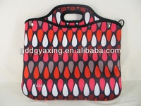 Neoprene laptop tote bag 2014 office lady notebook sleeve