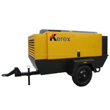 Kerex HG400M-13 Diesel portable used ingersoll rand air compressor