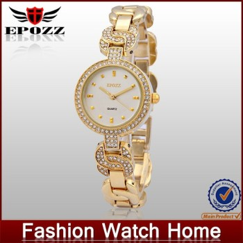 Lady quartz charm bracelet wrist watch new fashion watch 2015
