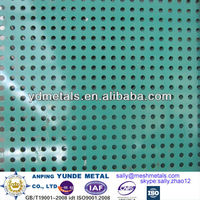 round hole perforated sheet/round hole perforated metal/perforated sheet