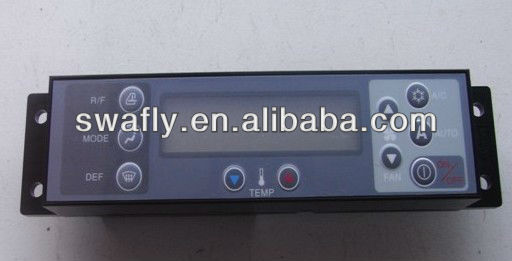 Kobelco SK200-6/SK200-6E Control Panel, SK200-6/SK200-6E Air Conditioner Control Panel, Kobelco Excavator Control Panel
