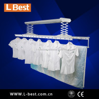 Professional Smart Home Design Balcony Ceiling Mounted Electric Clothes Drying Rack