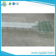 swimming pool fashionable T glass stage ,cat walk glass stage for show