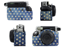 Fashion Jeans material for Fuji fijifilm instax Wide 210 camera bag