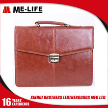 Stylish Simple Cheap Small Briefcases for Men with Single handle