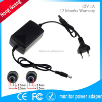 12v 1a chargeur security camera power adapter