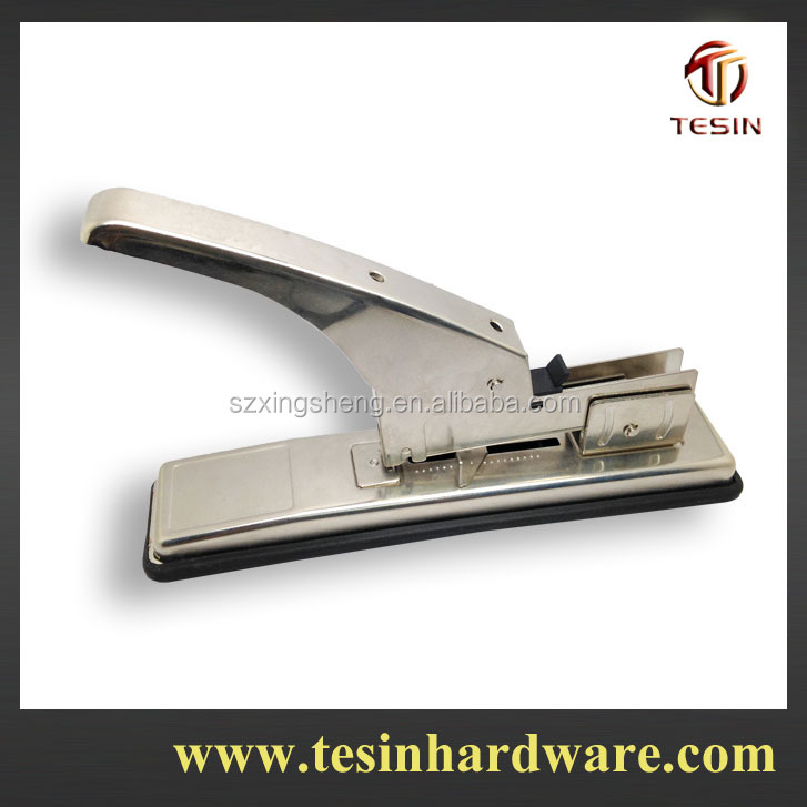 Stainless iron new designer disposable surgical stapler with 100 sheets capacity