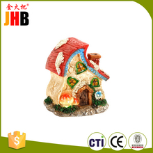 Best Selling Resin Miniature Fairy House Garden Decoration Supplies