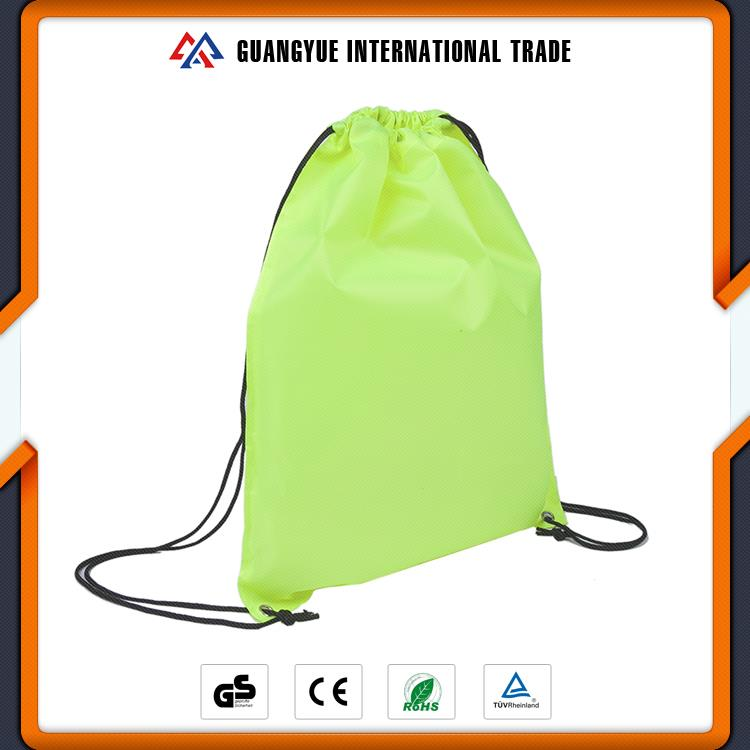 Guangyue High Quality Wholesale Polyester Drawstring Bags