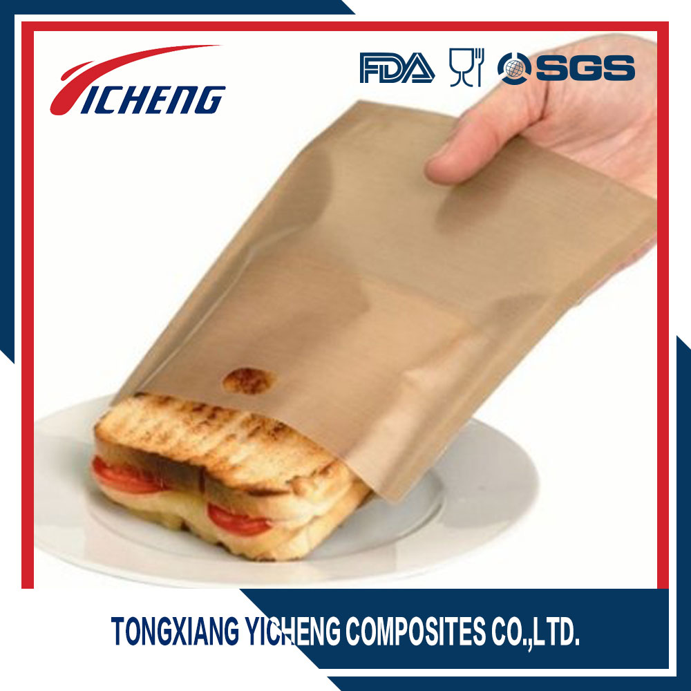 Microwave Oven Packaging Nonstick Teflon Toaster Pastry Baking Bag