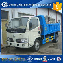 cheap dongfeng 5 ton 4x4 dump truck for hot sale