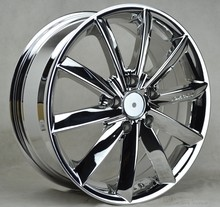 5x114.3 chrome car rims alloy wheel 17 inch wheel rim 5x105