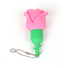 Best selling!!!new product china supplier beautiful 3D Rose PVC USB flash drive with best wholesale price free samples