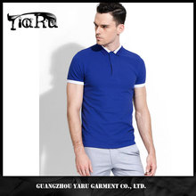Latest casual shirts designs for men 95% cotton 5% spandex polo t-shirts